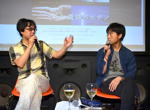 大谷能生さん(左)、蓮沼執太さん(右)