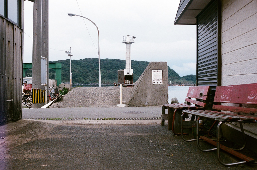 相島 Ainoshima, Fukuoka 2015/09/02 走出去就是港口了。  Nikon FM2 / 50mm AGFA VISTAPlus ISO400 Photo by Toomore