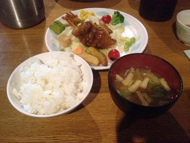 槍ヶ岳 槍ヶ岳山荘 夕食