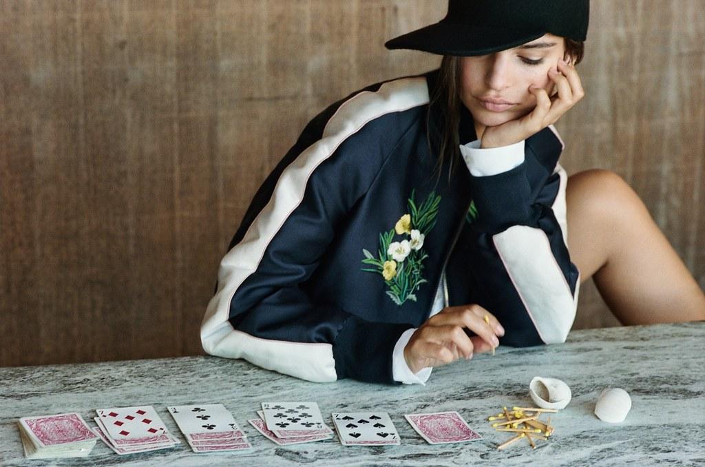 Эмили Ратайковски — Фотосессия для «Vogue» 2015 – 10