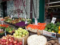 Kensington Market produce vendor