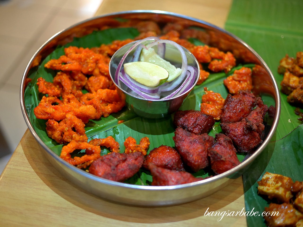 Curry Leaf Platter