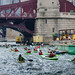 Ah, only in a kayak can you enjoy the natural beauty of Chicago by Jim Frazier