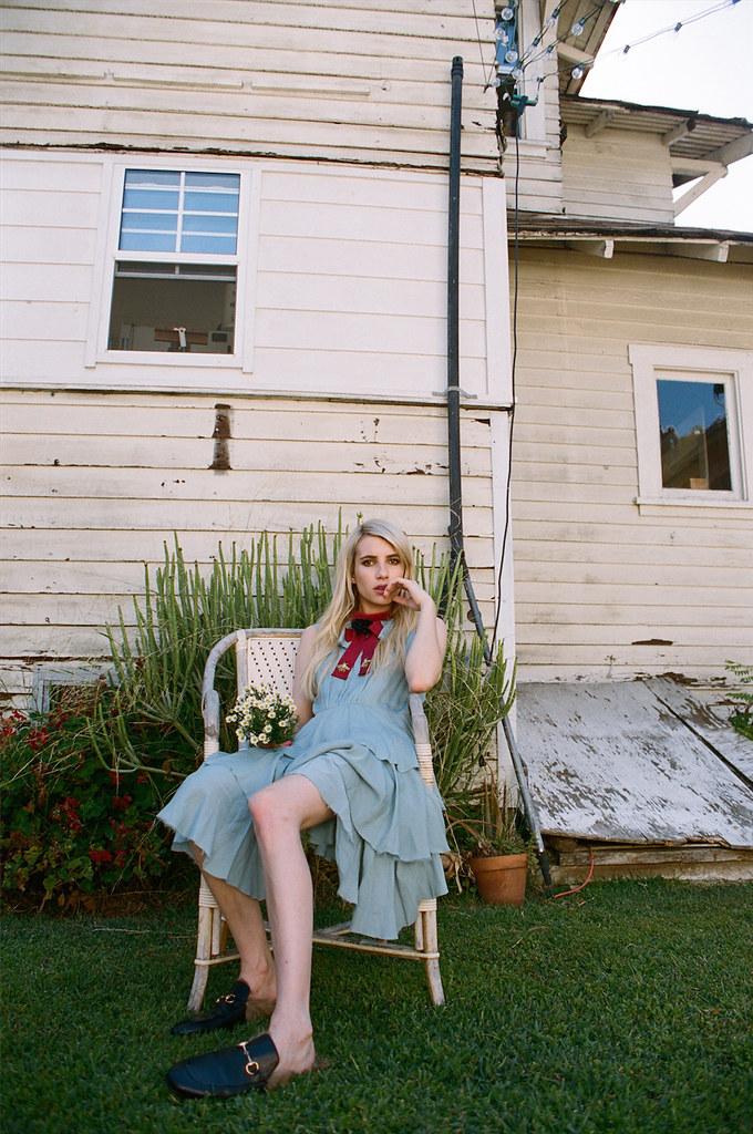 Эмма Робертс — Фотосессия для «Wonderland» 2015 – 5