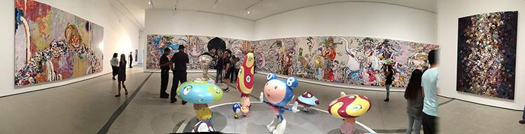 IMG_1386 _ Takashi Murakami, Broad Museum, LA