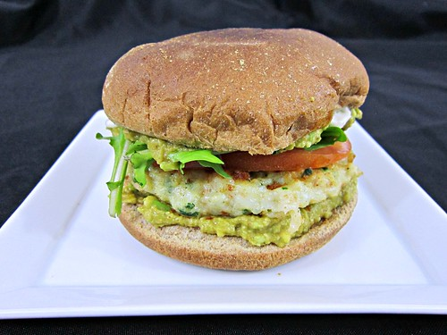 Shrimp Cilantro Burger