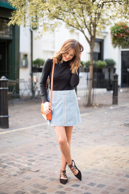 c569a8b5eb5e8 Topshop outfit. Topshop Polo neck. Kim Love Cloth