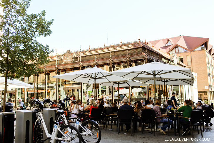 Mercado San Miguel (What to Do in Madrid Spain).