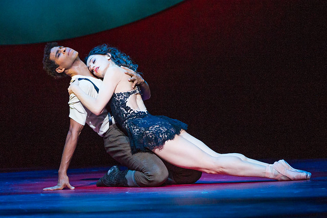 Marianela Nuñez and Carlos Acosta in Carmen © 2015 ROH. Photo by Tristram Kenton