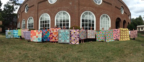 September Charity Quilts