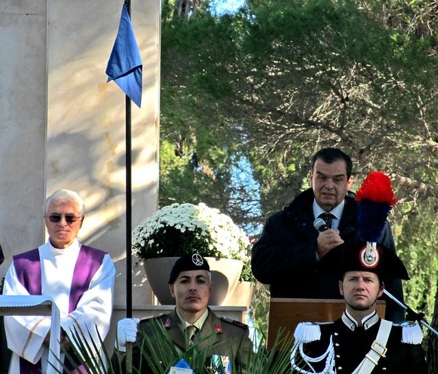 Casamassima- commemorazione dei militari polacchi caduti-Vito Lacoppola delegato del Sindaco di Bari Antonio Decaro (3)