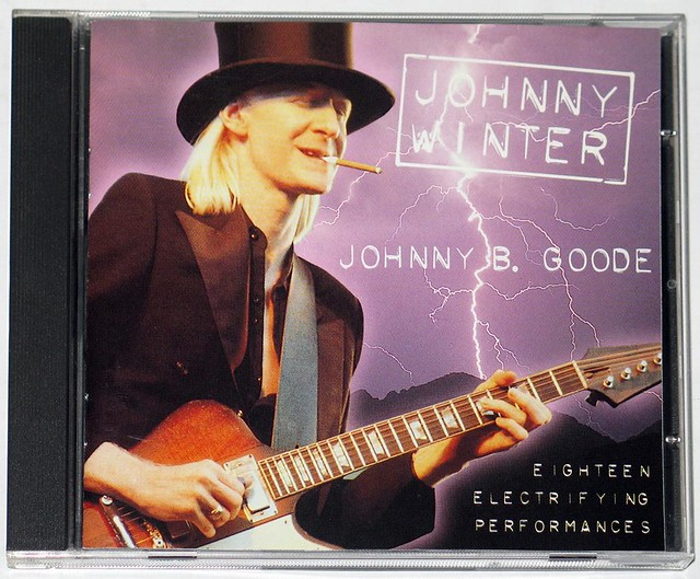 Johnny Winter Johnny B Goode Rare And Collectable Cds