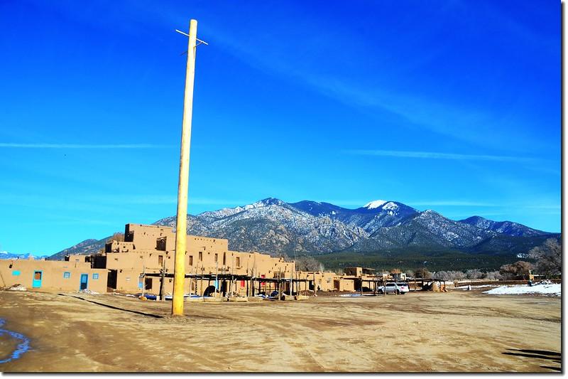 Pueblo Plaza, Taos Pueblo