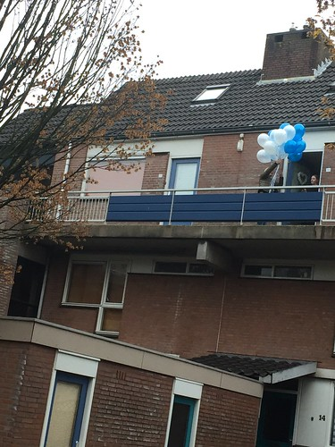Heliumballonnen Blauw Wit