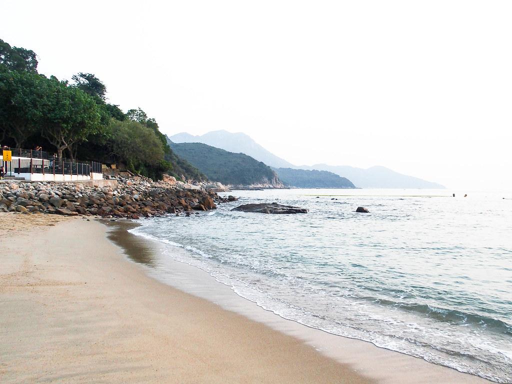 lamma island beach