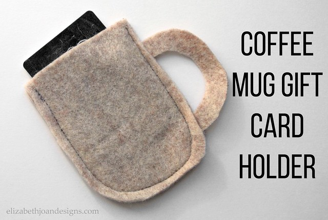 Coffee Mug Gift Card Holder