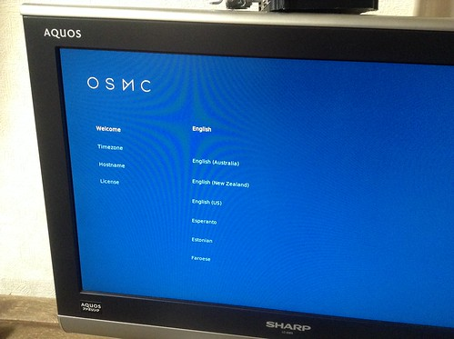 OSMC初期設定