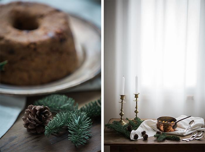 Port Christmas Pudding with Port Créme Anglaise