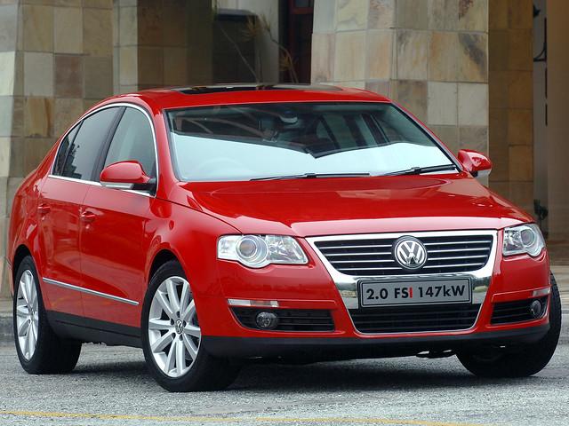 Volkswagen Passat 2.0 FSI (B6) для рынка ЮАР. 2005 – 2008 годы