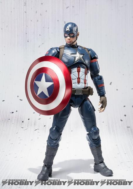 S.H.Figuarts 美國隊長3:英雄內戰【美國隊長】Captain America