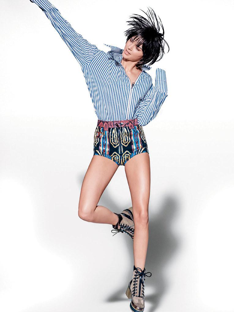 Кендалл Дженнер — Фотосессия для «Vogue» BR 2015 – 6