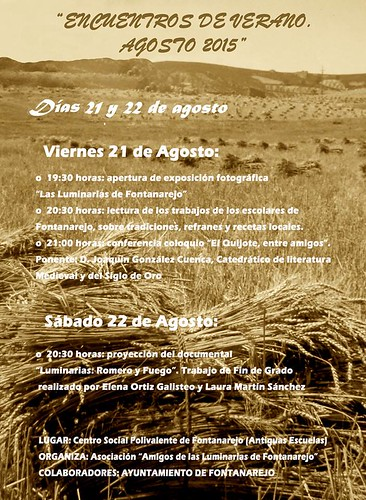 cartel encuentros verano 2015