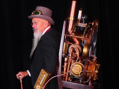 Professor R. Miles Levell, Gentleman Time Traveller (2)