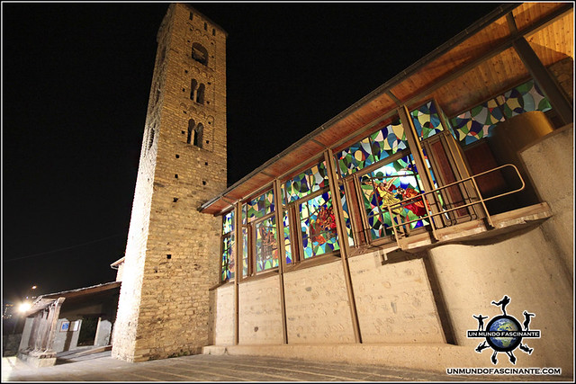Iglesia de Santa Eulalia de Encamp, Andorra.