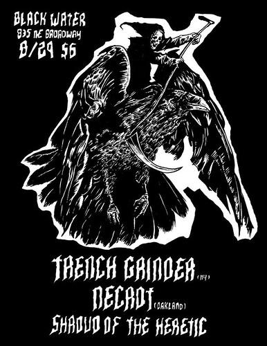 8/29/15 TrenchGrinder/Necrot/ShroudOfTheHeretic