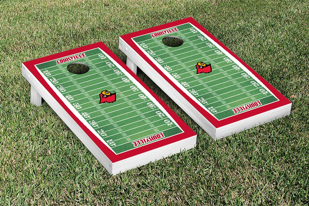 Louisville Cardinals Football Field Version