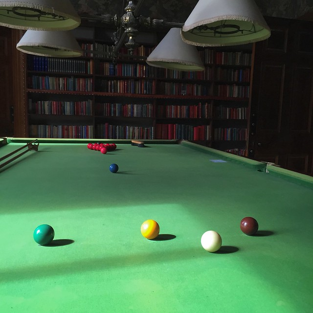 Billiards room at Martindale Hall, Mintaro