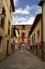 Puerta Real de Covarrubias (Burgos, España)