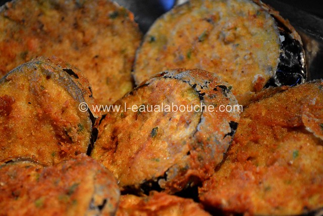 Aubergines Frites-Berejenas Fritas © Ana Luthi Tous droits réservés  018