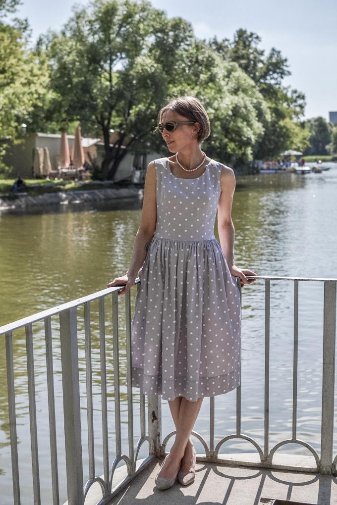 pastel polkadot dress 1