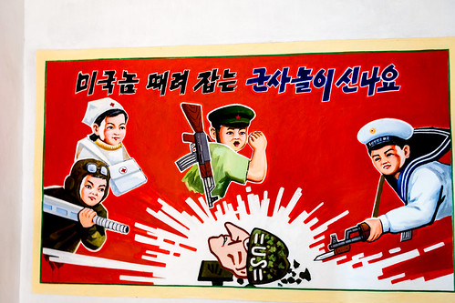 painting kindergarten kp northkorea dprk nordkorea southpyongan