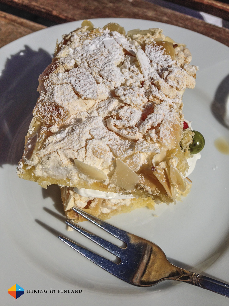 Brita Cake at Konsulinnan kahvihuone