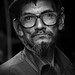 With Age comes experience B&W version by Sayeed Mahmud Emon