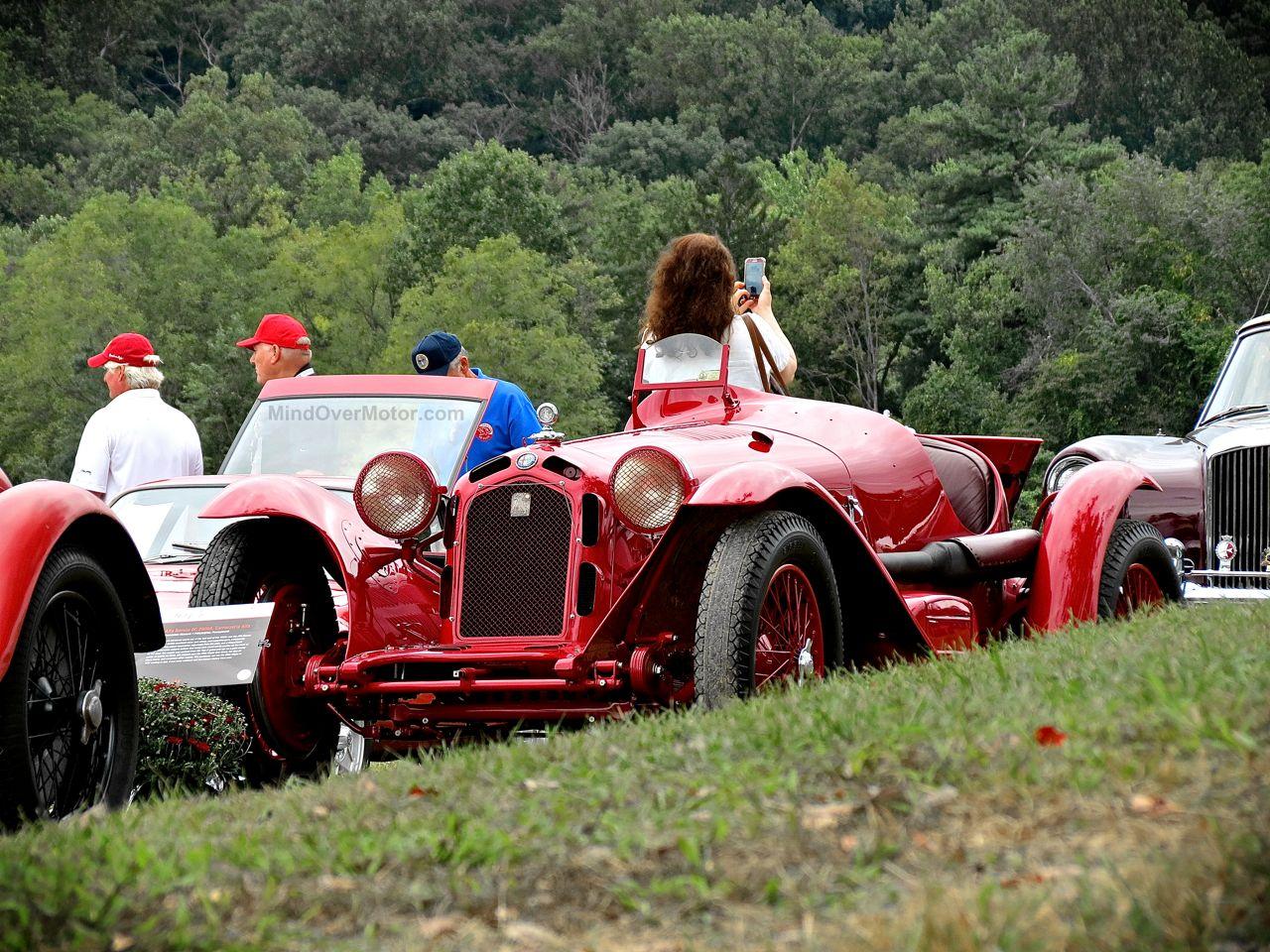 Radnor Hunt Alfa Romeo 8C Monza Front