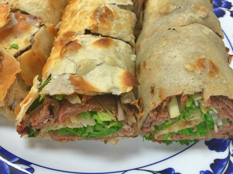 Beef Rolled Pan Cakes