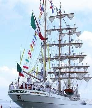 Buque Escuela Cuauhtémoc de la Armada de México