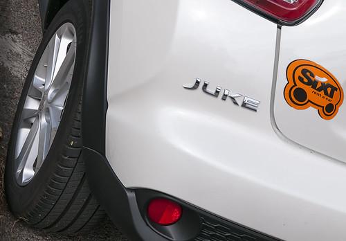 Nissan Juke de SIXT