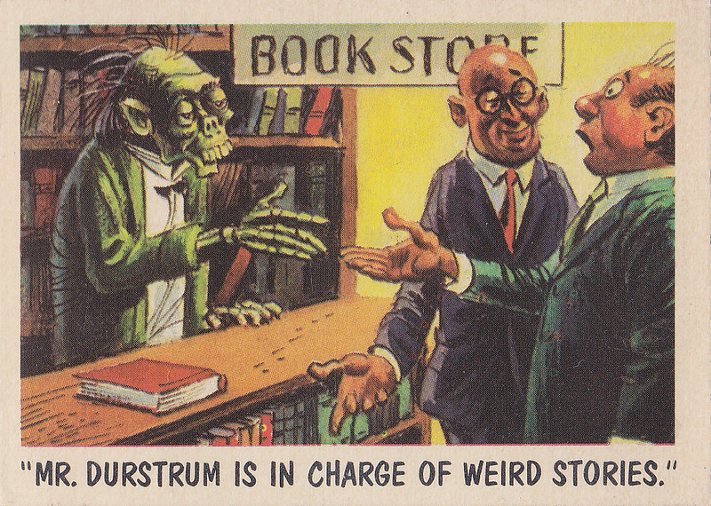 """""""You'll Die Laughing"""" Topps trading cards 1959,  illustrated by Jack Davis (40)"""