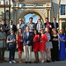 LMU School of Film & Television posted a photo:	Dean Stephen Ujlaki stands proudly with the FOF 2015 winners.