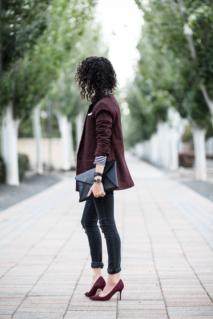 Pop Some Turquoise In Your Burgundy