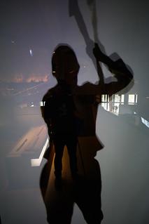 Image of Vasa Museum near Oscar. reflection museum grey sweden stockholm schweden skandinavien grau screen exhibition creativecommons scandinavia spiegelung ausstellung vasa bildschirm swe vasamuseet ccby eos6d zeissdistagont3518ze