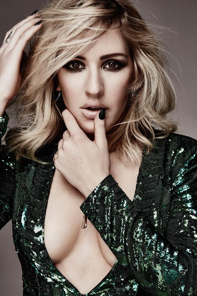 Элли Голдинг — Фотосессия для «Glamour» UK 2015 – 9
