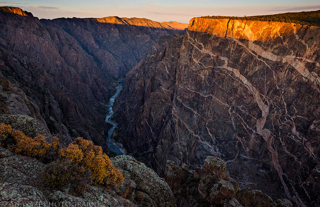 Black Canyon Sunrise