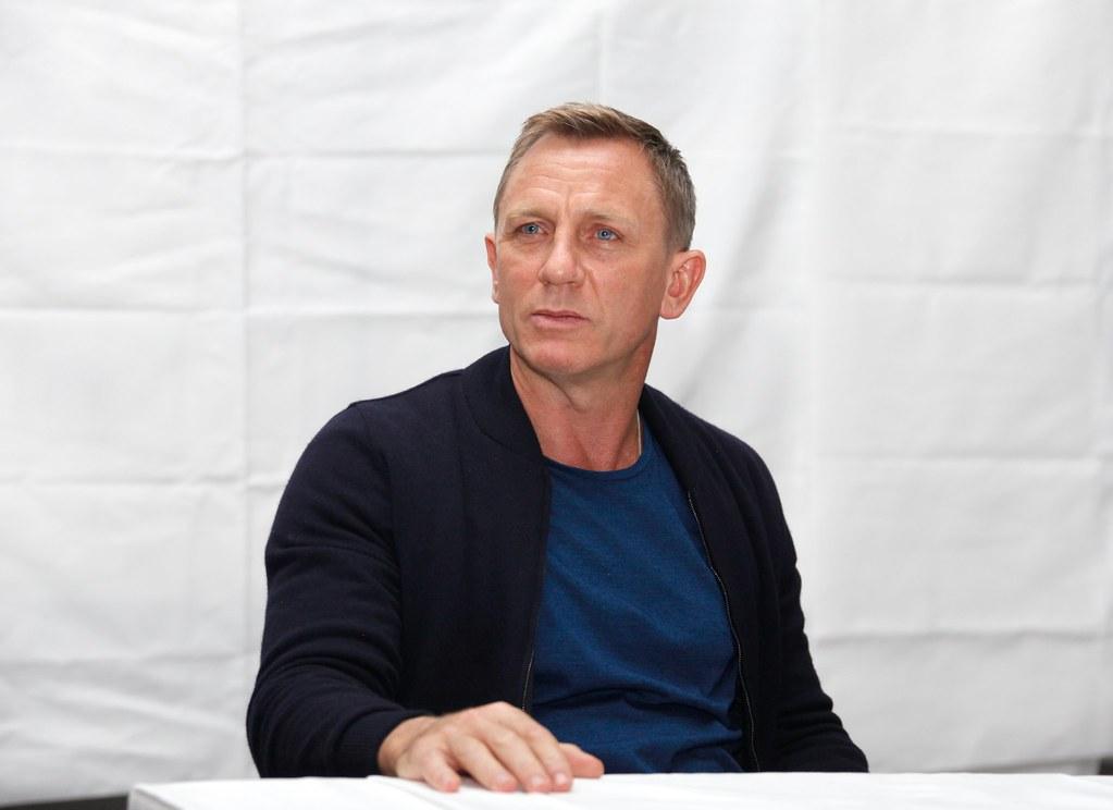 Дэниел Крэйг — Пресс-конференция «007: СПЕКТР» 2015 – 32