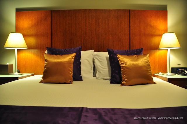 My Bed at Park Regis Griffin Suites