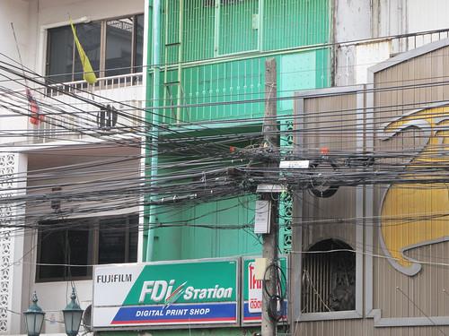 Bangkok: il y a du fil! Cela vous parait irréel? Eh bien, vous n'avez encore rien vu...